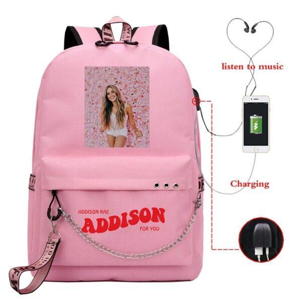 Addison Rae Backpack